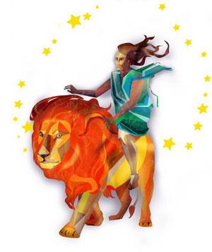 上升星座为狮子座