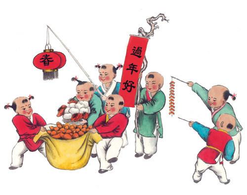 中国春节的来历